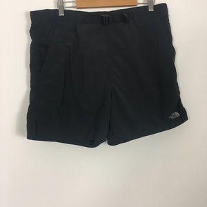 The North Face Black 100% Nylon Shorts